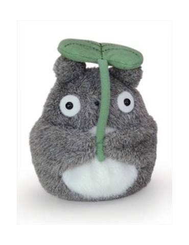 Peluche Felpa Mi Vecino Totoro Studio Ghibli: Totoro Hoja 13 cm