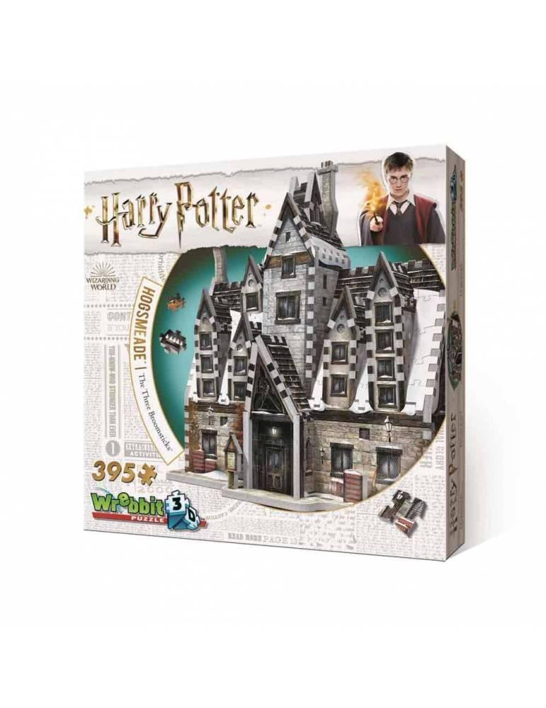 Puzle 3D Harry Potter: Las Tres Escobas