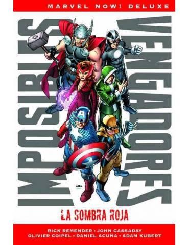 Imposibles Vengadores 1. La Sombra Roja (Marvel Now! Deluxe)