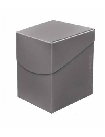 Caja de mazo para cartas Eclipse 100 Ultra Pro. Para 100 cartas. Color Smoke Grey