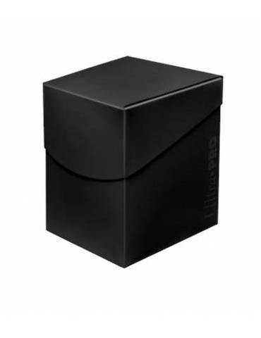 Caja de mazo para cartas Eclipse 100 Ultra Pro. Para 100 cartas. Color Jet Black