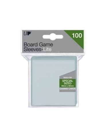 Fundas Ultra Pro Lite Board Game Sleeves 69mm x 69mm 100ct. - Paquete de 100