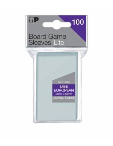 Fundas Ultra Pro Lite Mini European Board Game Sleeves 44mm x 68mm 100ct. - Paquete de 100