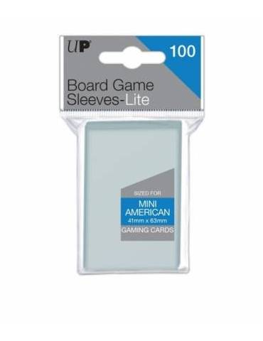 Fundas Ultra Pro Lite Mini American Board Game Sleeves 41mm x 63mm 100ct . - Paquete de 100