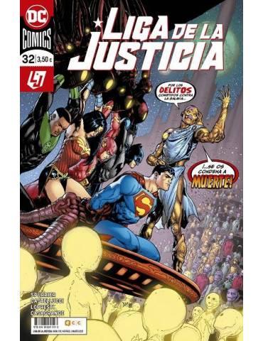 Liga de la Justicia núm. 110/ 32