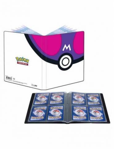 Portfolio Ultra Pro de 4 Bolsillos Pokémon Master Ball