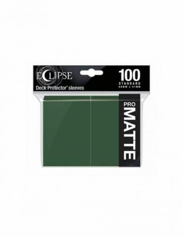 Fundas Ultra Pro Eclipse Matte Standard: Forest Green (100)