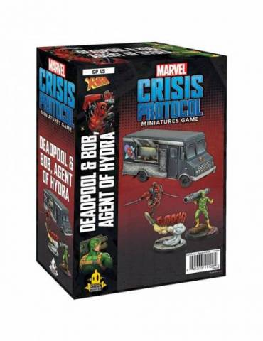 Marvel: Crisis Protocol - Deadpool & Bob