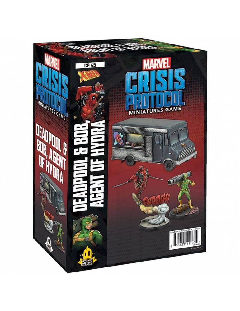 Marvel: Crisis Protocol - Deadpool & Bob