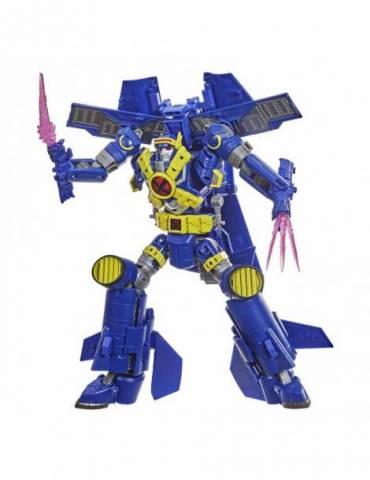 Figura Transformers / X-Men Marvel Comics: Ultimate X-Spanse / X-Jet 21