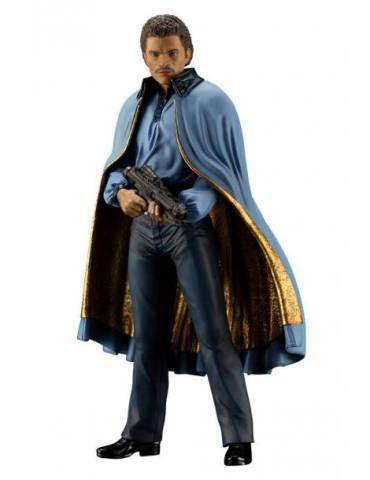 Figura Star Wars Episode IV Estatua ARTFX+: Lando Calrissian 18 cm