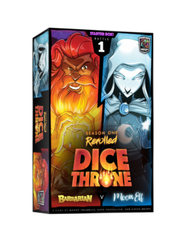 Dice Throne: Season One ReRolled - Barbarian v. Moon Elf