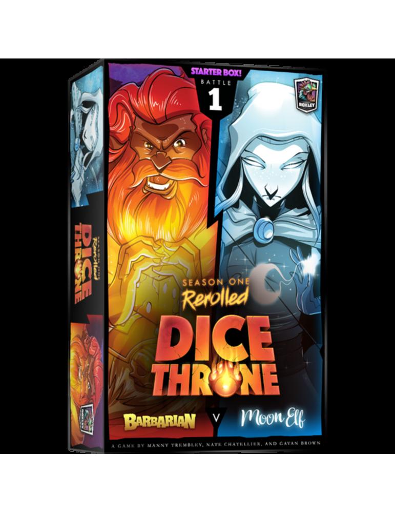 Dice Throne: Season One ReRolled - Barbarian v. Moon Elf