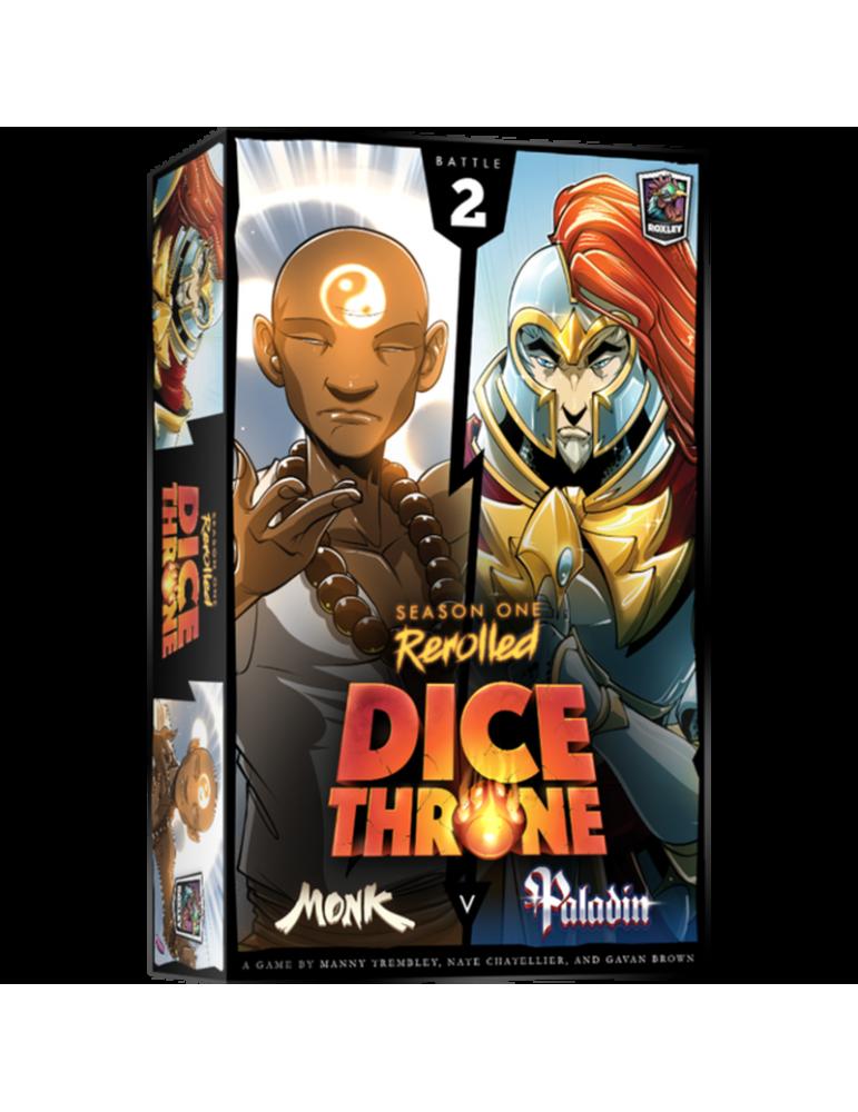 Dice Throne: Season One ReRolled - Monk v. Paladin