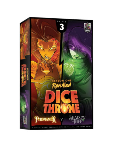 Dice Throne: Season One ReRolled - Pyromancer v. Shadow Thief