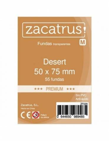 Fundas Zacatrus Desert premium (50 mm x 75 mm) (55 uds)