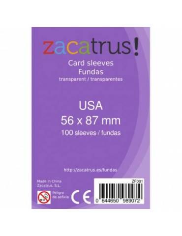 Fundas Zacatrus USA (56 mm X 87 mm) (55 uds)