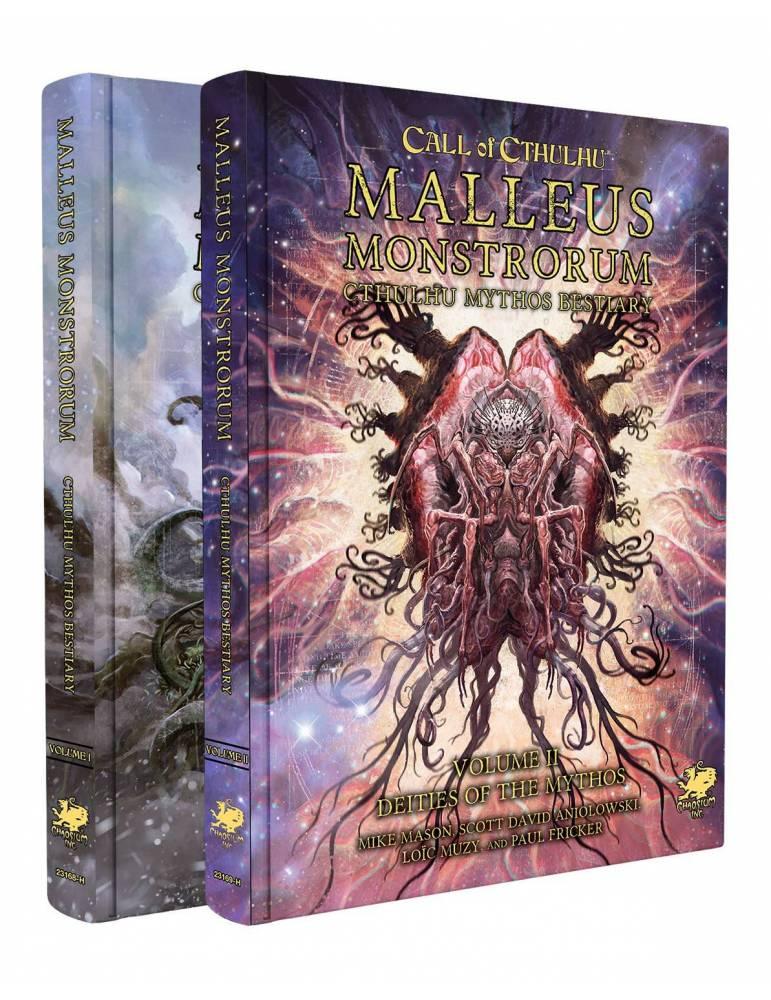 Two-Volume Slipcase Set: Malleus Monstrorum - Cthulhu Mythos Bestiary