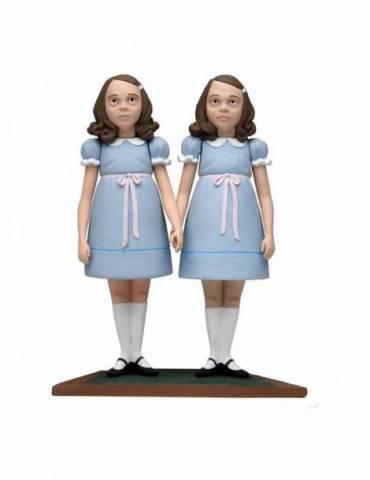 Pack de 2 Figuras El resplandor: The Grady Twins 15 cm
