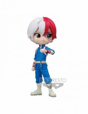 Figura My Hero Academia Q Posket: Shoto Todoroki Ver. B 14 cm