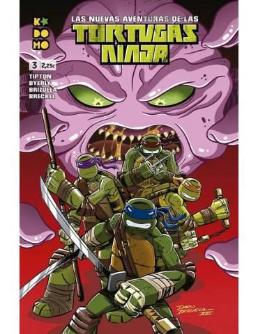 Las nuevas aventuras de las Tortugas Ninja núm. 03