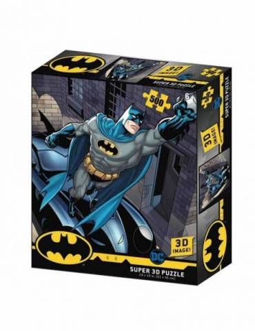 Puzle Lenticular 500 Piezas DC Comics: Batmobile