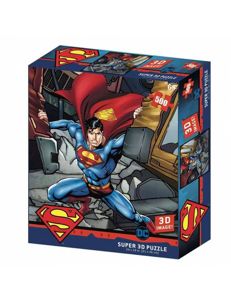 Puzle Lenticular 500 Piezas DC Comics: Superman