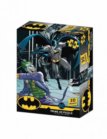 Puzle Lenticular 300 Piezas DC Comics: Batman vs Joker