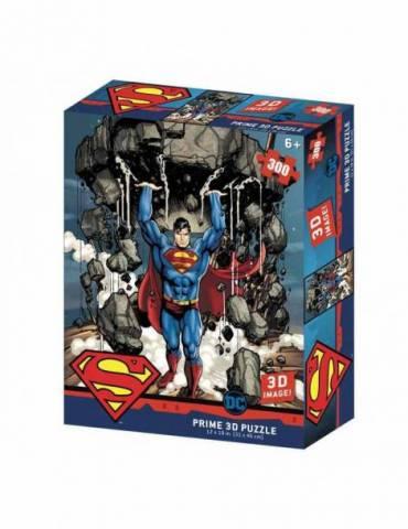 Puzle Lenticular 300 Piezas DC Comics: Superman Montaña
