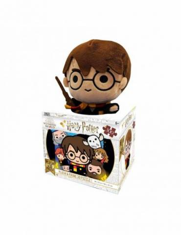 Peluche + Puzle Lenticular 300 Piezas: Harry Potter