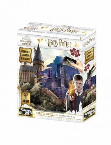 Puzle para rascar 500 Piezas (Dia y Noche) Harry Potter: Hogwarts