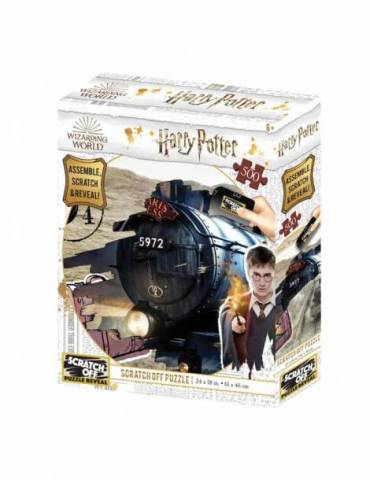Puzle para rascar 500 Piezas Harry Potter: Hogwarts Express
