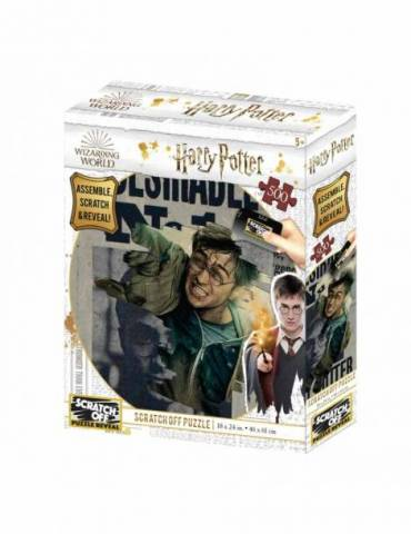 Puzle para rascar 500 Piezas Harry Potter: Harry Potter Wanted