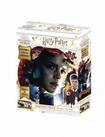 Puzle para rascar 150 Piezas (2 Imágenes en 1 Puzle) Harry Potter: Hermione