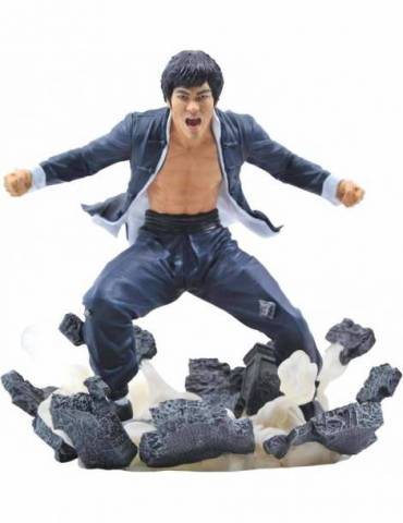 Figura Diorama Bruce Lee Gallery: Bruce Lee Earth 23 cm