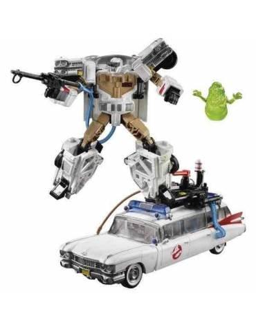 Figura Transformers / Los cazafantasmas: Ectotron / Coche Ecto-1
