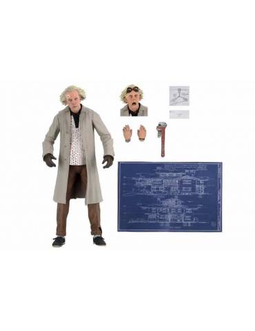 Figura Scale Action Figure Back to the Future: Ultimate Doc Brown 18 cm