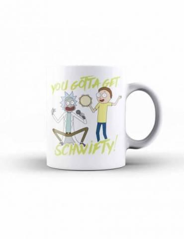 Taza Ceramica Rick y Morty: Schwifty