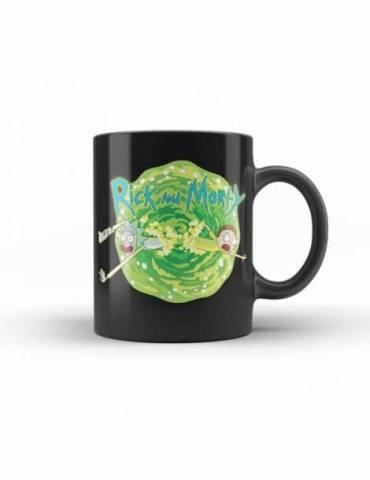 Taza Ceramica Rick y Morty: Logo