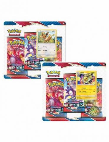 Pokémon Sword & Shield 5: Battle Styles - 3 Booster Pack Blister (Aleatorio)