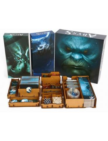 Inserto e-Raptor Abyss + expansiones
