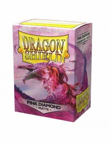 Fundas Dragon Shield: Matte Pink Diamond (100 ct)