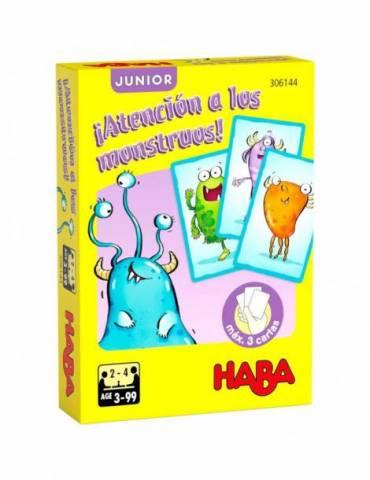 Triunfa Junior: ¡Atención a los monstruos!