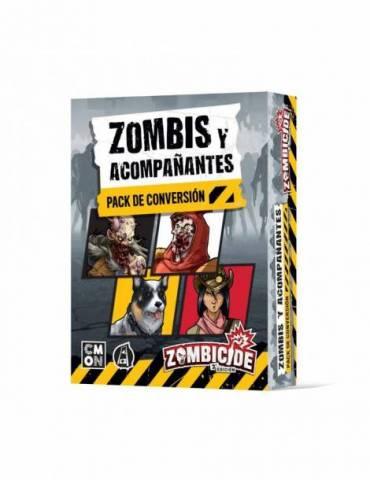 Zombicide: Zombis y acompañantes - Pack de conversión