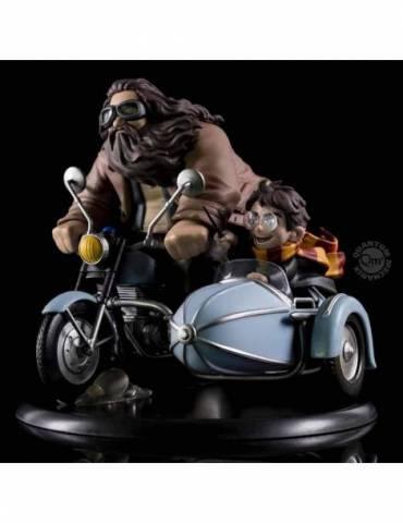 Figura Q-Fig Harry Potter Max: Harry Potter & Rubeus Hagrid 15 cm