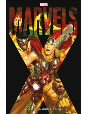Coleccion Marvels. Marvels X
