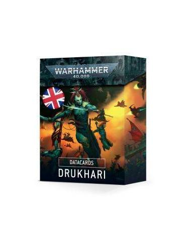 Datacards: Drukhari (Inglés)