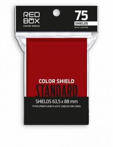 Fundas Color Shield Rojas Standard Matte (63