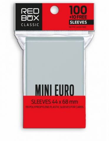 Fundas Mini Euro Classic 60 Mic (44x68 mm)(110 Uds)