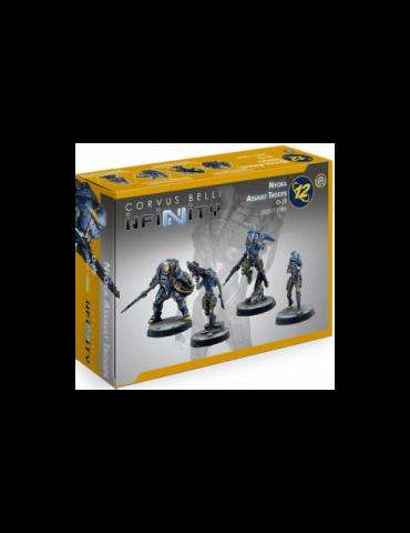 Infinity: Nyoka Assault Troops